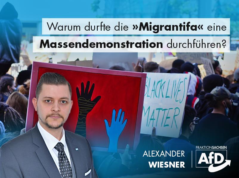 """Warum durfte die """"Migrantifa"""" eine Massendemonstration durchführen?"""