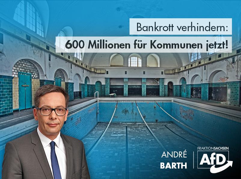 Bankrott verhindern: 600 Millionen für Kommunen jetzt!