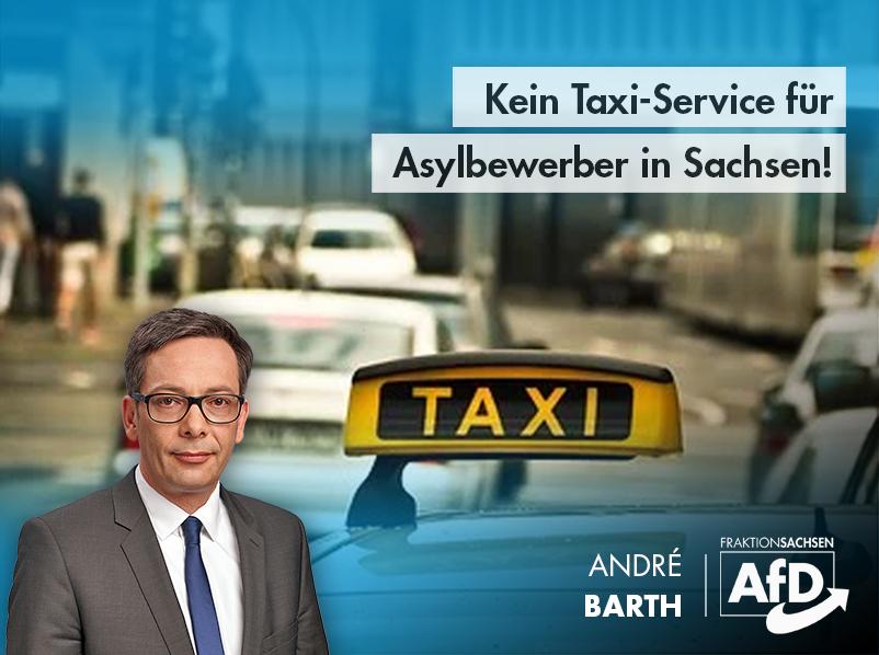 Kein Taxi-Service für Asylbewerber in Sachsen