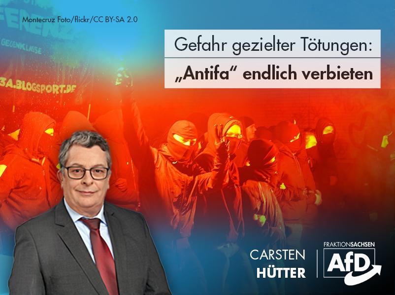 """Gefahr gezielter Tötungen: """"Antifa"""" endlich verbieten"""