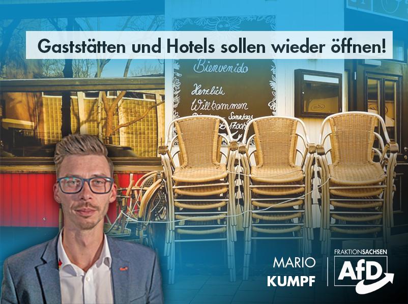Gaststätten und Hotels sollen wieder öffnen