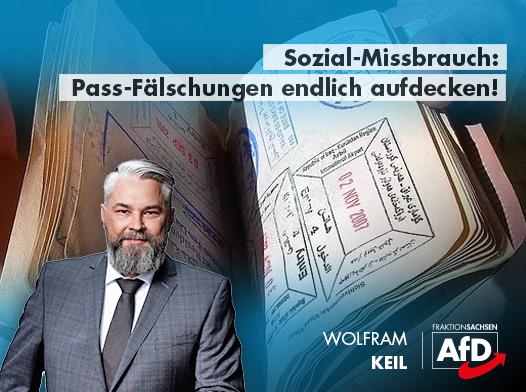 Sozial-Missbrauch: Pass-Fälschungen endlich aufdecken