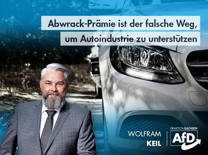 Abwrack-Prämie ist der falsche Weg, um Autoindustrie zu unterstützen