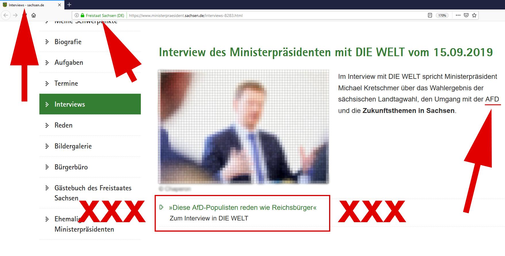 Seehofer 2.0: Kretschmer pöbelt gegen AfD / Wir prüfen juristische Schritte!