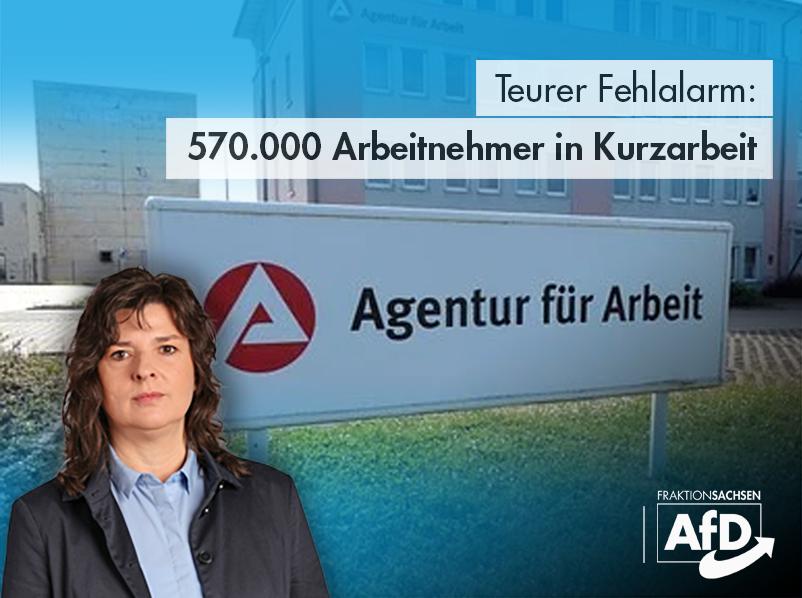 Teurer Fehlalarm: 570.000 Arbeitnehmer in Kurzarbeit
