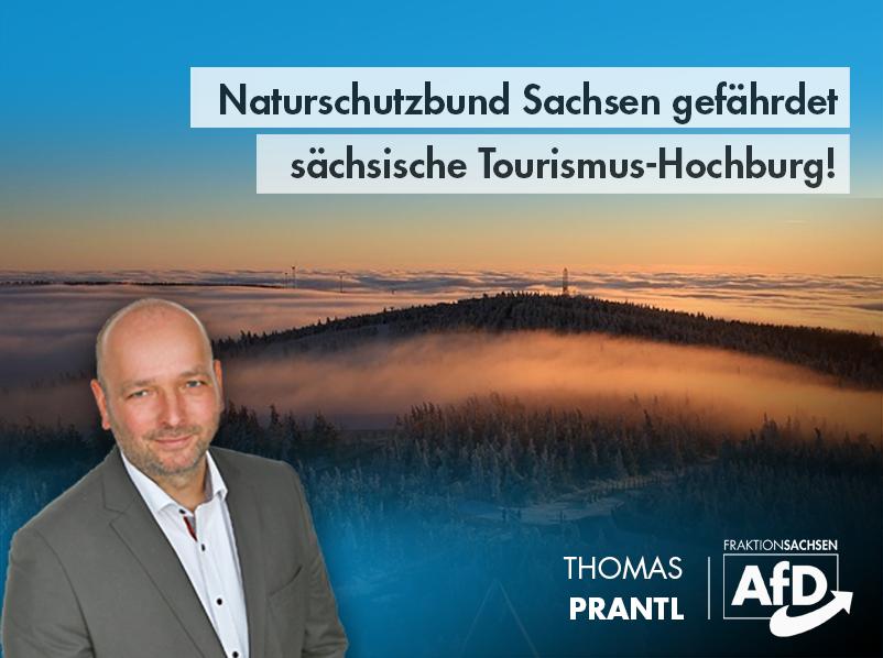 Naturschutzbund Sachsen gefährdet sächsische Tourismus-Hochburg!