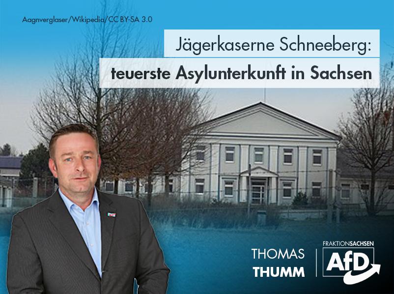 Jägerkaserne Schneeberg: teuerste Asylunterkunft in Sachsen