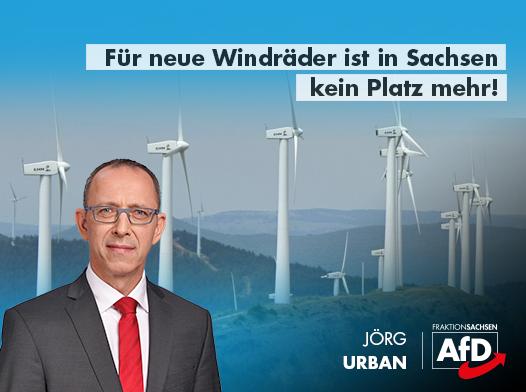 Für neue Windräder ist in Sachsen kein Platz mehr!