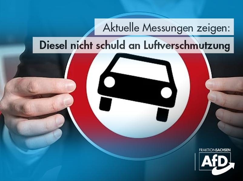 Aktuelle Messungen zeigen: Diesel nicht schuld an Luftverschmutzung