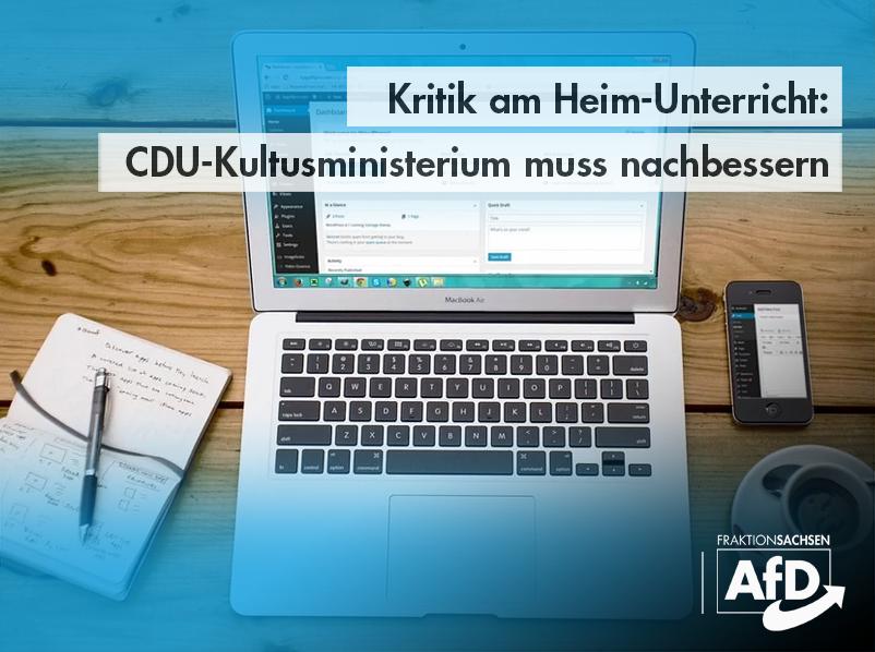 Kritik am Heim-Unterricht: CDU-Kultusministerium muss nachbessern