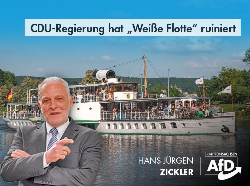 """CDU-Regierung hat """"Weiße Flotte"""" ruiniert"""