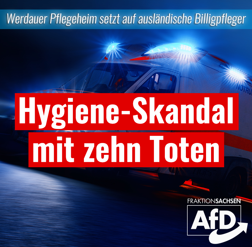 Hygiene-Skandal mit zehn Toten