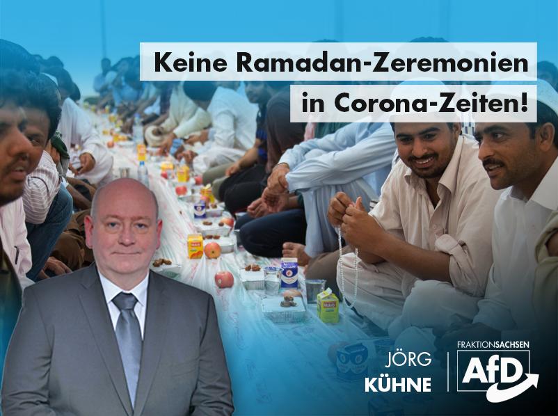 Keine Ramadan-Zeremonien in Corona-Zeiten!