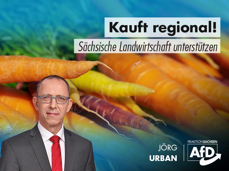 Kauft regional! Sächsische Landwirtschaft unterstützen!