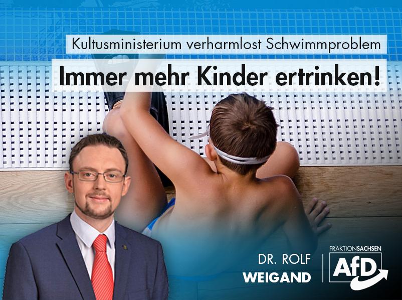 Kultusministerium verharmlost Schwimmproblem: Immer mehr Kinder ertrinken
