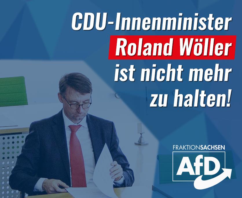 CDU-Innenminister Roland Wöller ist nicht mehr zu halten
