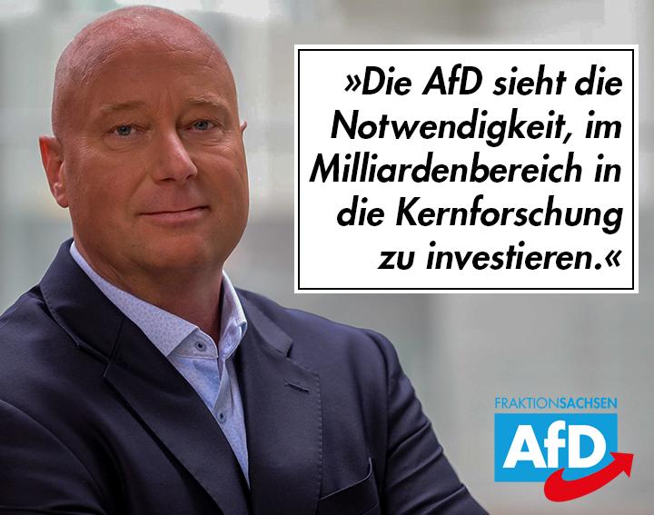 AfD fordert Milliardeninvestition in Kernforschung