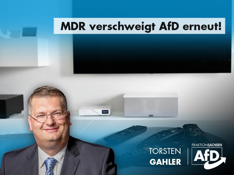 MDR verschweigt AfD erneut