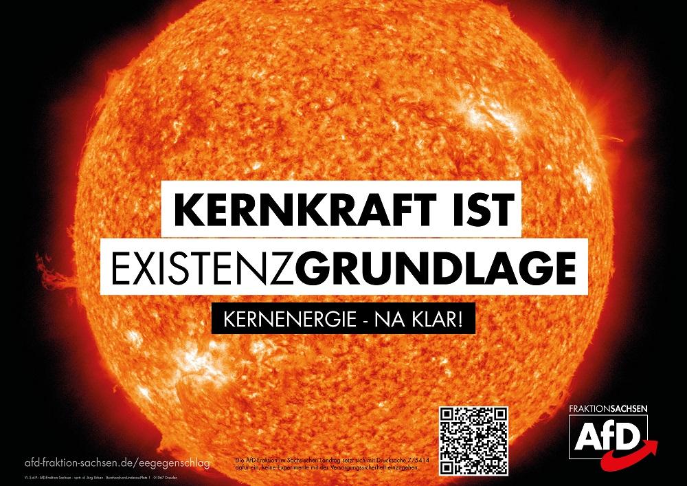AfD-Antrag: Kernenergie ist eine nachhaltige Investition!